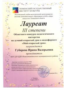 Губарева И.В 001